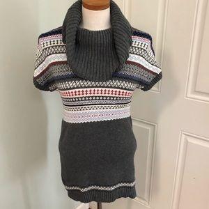 Tommy Hilfiger fairisle tunic sweater dress